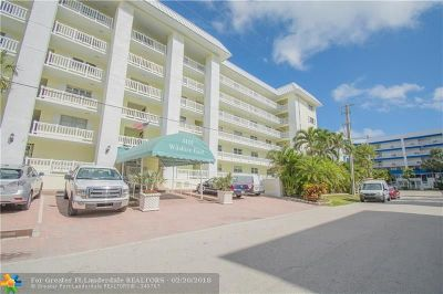 Fort Lauderdale Condo/Townhouse For Sale: 3101 NE 47th Ct #205
