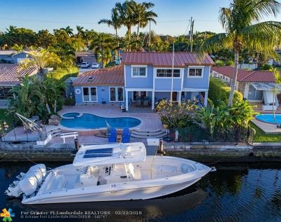 Fort Lauderdale Single Family Home For Sale: 1113 Tangelo Isle