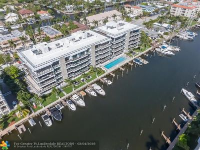 Fort Lauderdale Condo/Townhouse For Sale: 80 Hendricks Isle #PH 2
