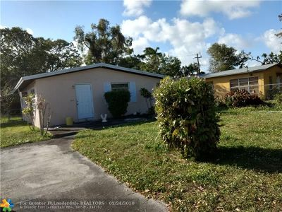 Fort Lauderdale Single Family Home For Sale: 1613 NW 15th Ave