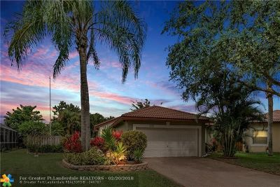 Coral Springs Single Family Home For Sale: 4020 NW 61st Way