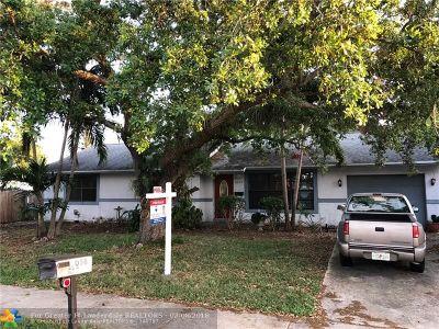 Oakland Park Single Family Home Backup Contract-Call LA: 1056 NE 33rd St