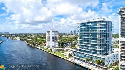 Fort Lauderdale Condo/Townhouse For Sale: 920 Intracoastal Dr #1603