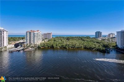 Fort Lauderdale Condo/Townhouse For Sale: 920 Intracoastal Dr #1201
