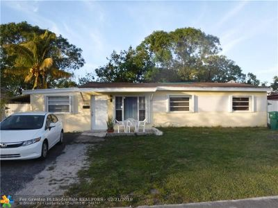 Miramar Single Family Home For Sale: 6921 SW 26th St