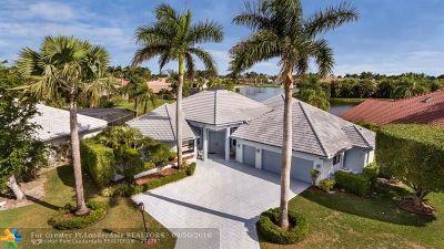 Boca Raton Single Family Home For Sale: 10743 Stonebridge Blvd