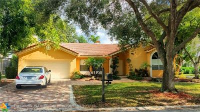 Coral Springs Single Family Home For Sale: 251 NW 118th Ave
