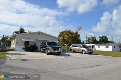 Fort Lauderdale Multi Family Home For Sale: 3608 SW 13th Ct