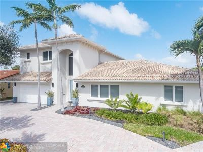 Fort Lauderdale Single Family Home For Sale: 11 Fort Royal Isle