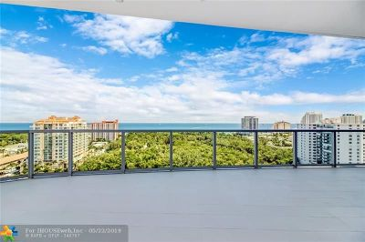 Fort Lauderdale Condo/Townhouse For Sale: 920 Intracoastal Dr #1501
