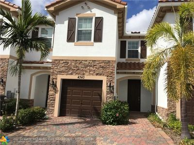 West Palm Beach Condo/Townhouse For Sale: 4343 Brewster Ln #4343