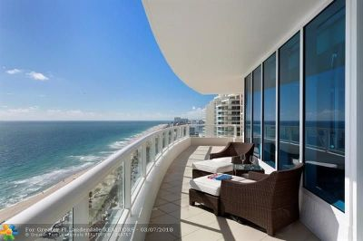 Fort Lauderdale Condo/Townhouse For Sale: 1 N N. Fort Lauderdale Beach Blvd #2004