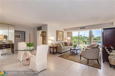 Fort Lauderdale Condo/Townhouse For Sale: 2701 N Ocean Blvd #2D
