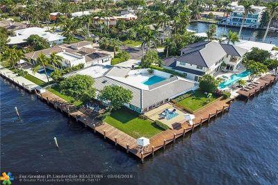 Fort Lauderdale Single Family Home For Sale: 3019 NE 21st St