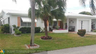 Pompano Beach Single Family Home For Sale: 250 NW 24th Ct