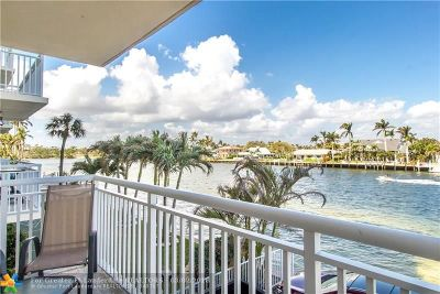 Pompano Beach Condo/Townhouse For Sale: 2611 N Riverside Dr #208