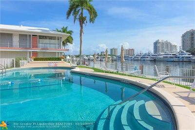 Fort Lauderdale Condo/Townhouse For Sale: 2700 Yacht Club Blvd #5B