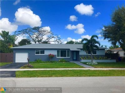 Fort Lauderdale Single Family Home For Sale: 3361 SW 20th St
