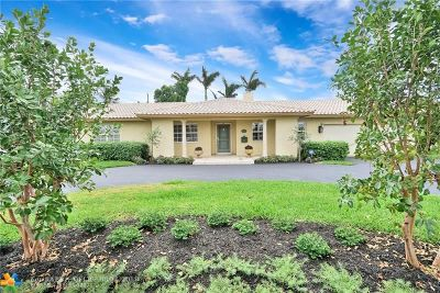 Fort Lauderdale FL Single Family Home For Sale: $1,100,000