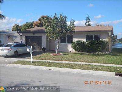 Margate Single Family Home For Sale: 6985 S Margate Blvd