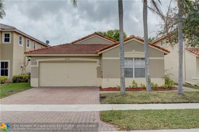 Coral Springs Single Family Home For Sale: 5545 NW 125th Te