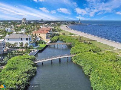 Pompano Beach Condo/Townhouse For Sale: 1750 Bay Dr #1750