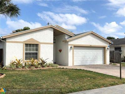Deerfield Beach Single Family Home Backup Contract-Call LA: 312 SW 35