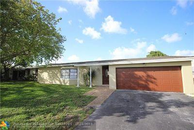 Sunrise FL Single Family Home Backup Contract-Call LA: $349,900