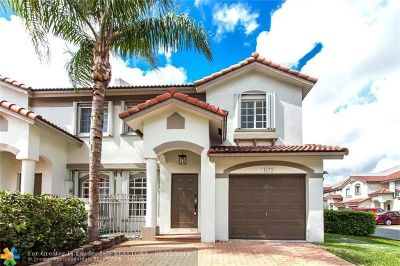 Doral Condo/Townhouse For Sale: 5172 NW 114th Ct