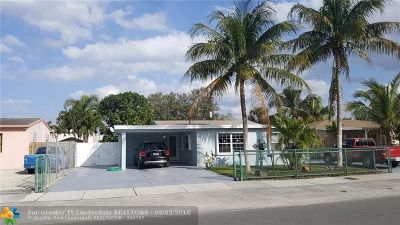 Fort Lauderdale Single Family Home For Sale: 1314 SW 22nd Ave