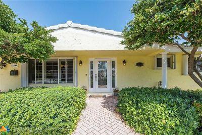 Lighthouse Point Single Family Home For Sale: 2231 NE 43rd St