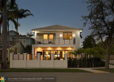 Fort Lauderdale Single Family Home For Sale: 875 SE 9th Ave