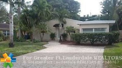 Fort Lauderdale Single Family Home For Sale: 510 SW 19th St