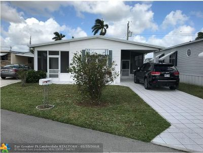 Davie Single Family Home For Sale: 8551 SW 20th Pl