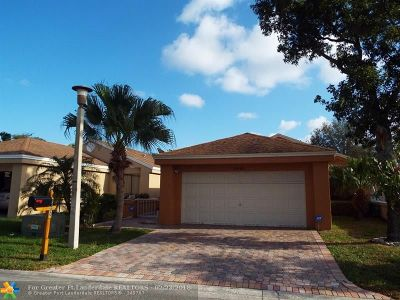 Coconut Creek Single Family Home For Sale: 3410 NW 22nd Pl