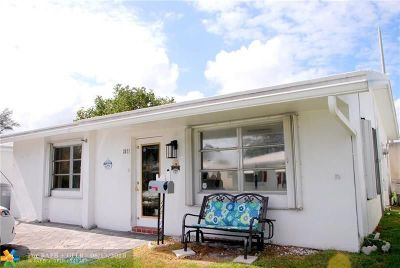 Pompano Beach Single Family Home For Sale: 2671 NW 4th Ave