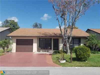 Deerfield Beach Single Family Home Backup Contract-Call LA: 1927 SW 15th Pl