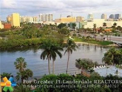 Fort Lauderdale Condo/Townhouse For Sale: 1170 N Federal Hwy #910