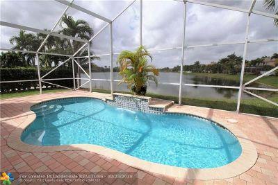 Coconut Creek Single Family Home For Sale: 4631 Little Palm Ln