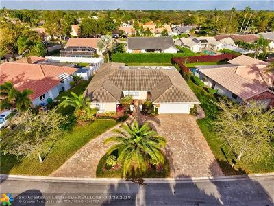 Coral Springs Single Family Home For Sale: 10953 NW 4th St