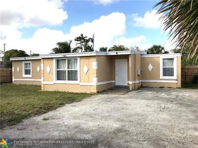 Fort Lauderdale Single Family Home For Sale: 1605 NW 11th St