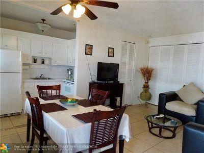 Hallandale Condo/Townhouse For Sale: 3133 S Ocean Dr #319