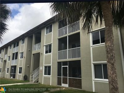 Coral Springs Condo/Townhouse For Sale: 10141 W Atlantic Blvd #L2