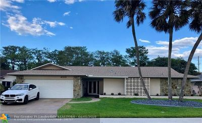 Tamarac Single Family Home Backup Contract-Call LA: 4512 King Palm Dr