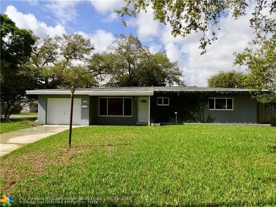 Fort Lauderdale Single Family Home For Sale: 1571 Riverland Rd