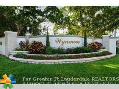 Coconut Creek Condo/Townhouse For Sale: 1605 Abaco Dr #K1