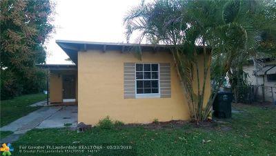 North Miami Single Family Home Backup Contract-Call LA: 1545 NE 127th St