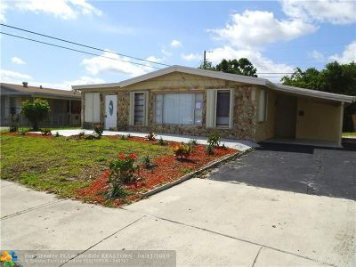 Pompano Beach Single Family Home For Sale: 608 NW 20th Ct