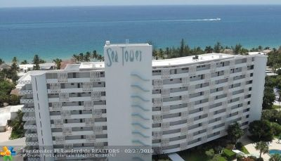 Fort Lauderdale Condo/Townhouse For Sale: 2840 N Ocean Blvd #302