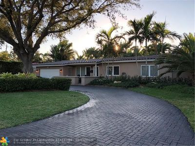 Fort Lauderdale Single Family Home For Sale: 2609 NE 26th Ave
